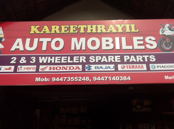 Kareethrayil Automobiles, LUBES AND SPARE PARTS,  service in Palai, Kottayam