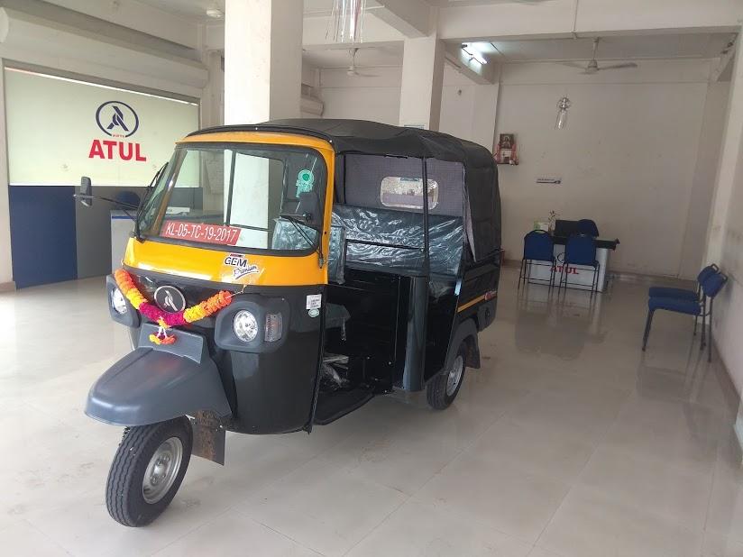 MJM motors, ATUL AUTO LTD, THREE WHEELER,  service in Palai, Kottayam