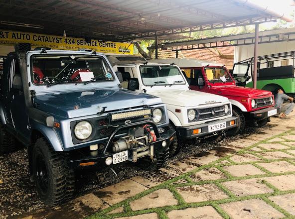 R&T Auto Catalyst - 4x4 Off Road Equipment's & Ser, WORKSHOP,  service in Kottayam, Kottayam