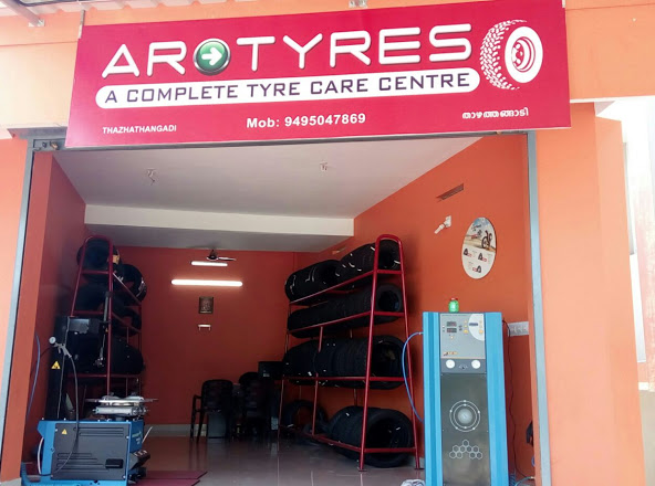 ARO TYRES THAZHATHANGADI, TYRE & PUNCTURE SHOP,  service in Kottayam, Kottayam