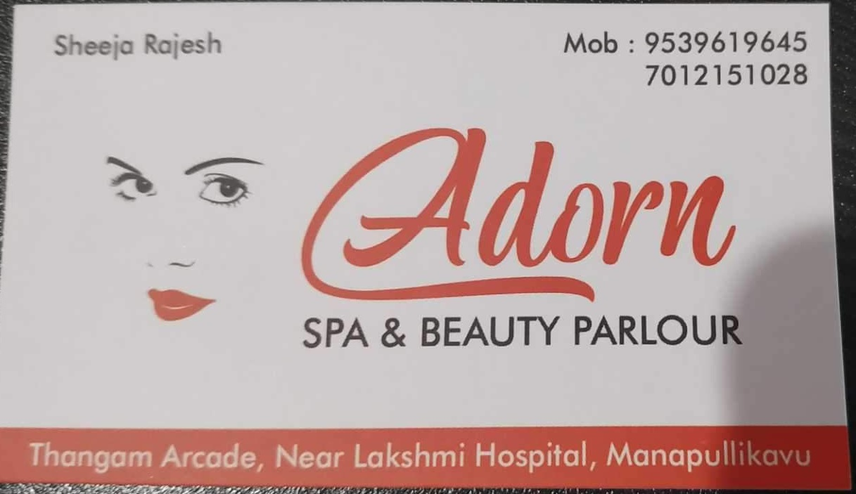 Adorn Spa and Beauty Parlour, BEAUTY PARLOUR,  service in Palakkad Town, Palakkad