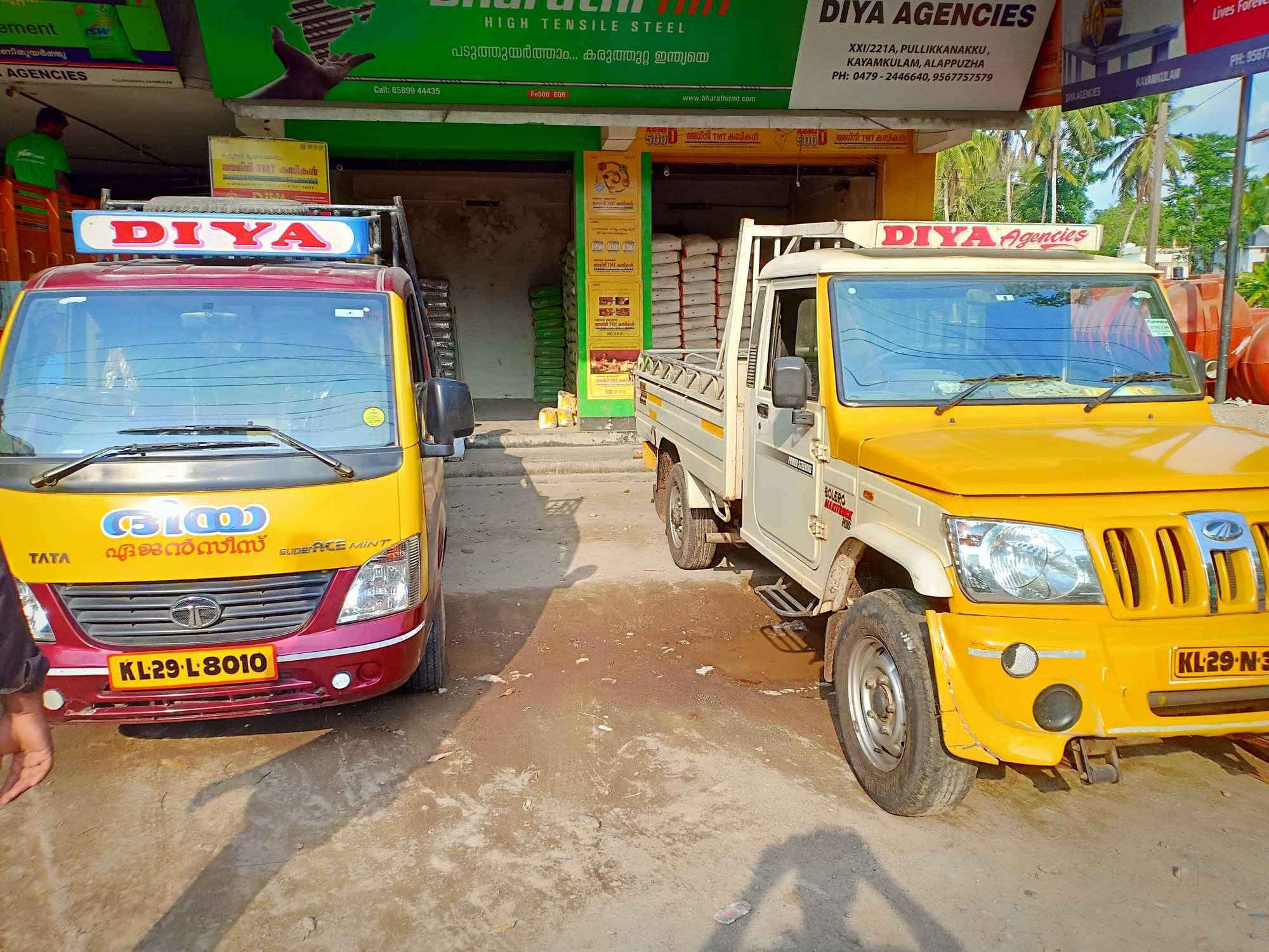 Diya Agencies, EARTH WORKS AND MATERIALS,  service in Alappuzha, Alappuzha