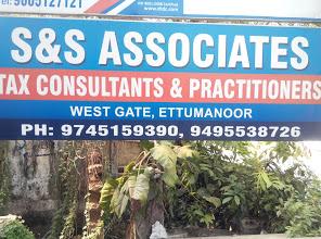 S & S Associates, TAX CONSULTANT,  service in Ettumanoor, Kottayam