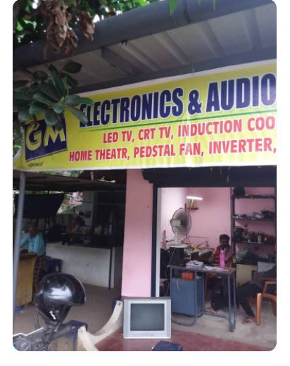 Gm Electronic, ELECTRONICS REPAIRING,  service in Pattanakkad, Alappuzha