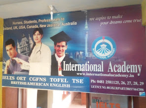International Academy, EDUCATION CONSULTANCY,  service in Nagambadam, Kottayam