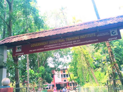 INDUSTRIAL TRAINING INSTITUTE, ITI INSTITUTION,  service in Ettumanoor, Kottayam