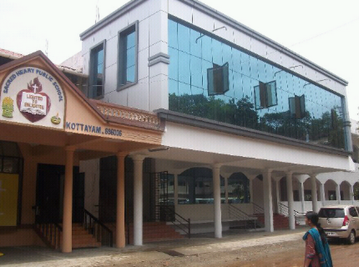 Sacred Heart Public School, SCHOOL,  service in Kumaranalloor, Kottayam
