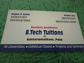 B. Tech Tuition Pala, TUTION CENTER,  service in Palai, Kottayam
