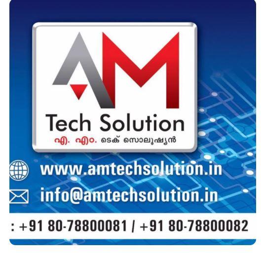 A M Tech Solutions, LAPTOP & COMPUTER SERVICES,  service in Alappuzha, Alappuzha