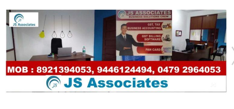 J S Associates, TAX CONSULTANTS,  service in Mavelikkara, Alappuzha