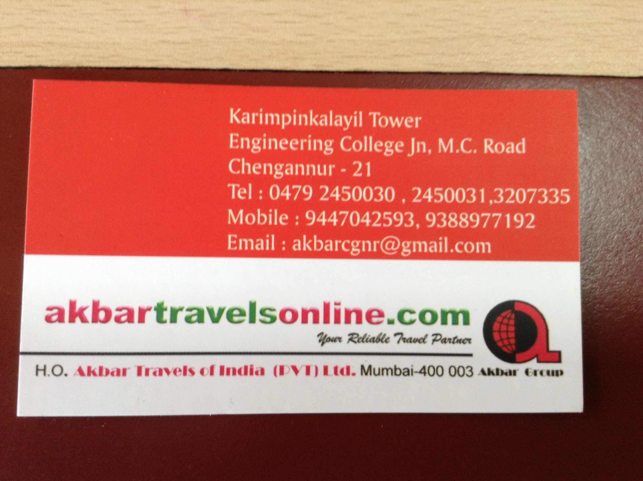 Akbar Travels Chengannur, TOURS & TRAVELS,  service in Chengannur, Alappuzha