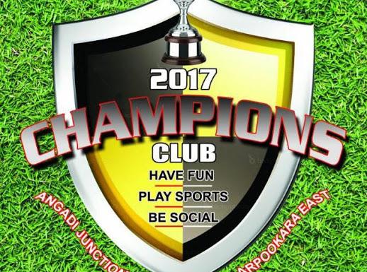 Champions Club, CLUBS,  service in Arpookara, Kottayam
