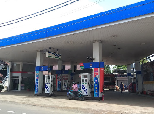 Babys Service Centre Hindustan Petroleum, PETROL PUMP,  service in Kodimatha, Kottayam