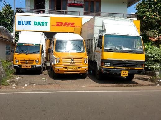 Blue Dart Express Ltd, COURIER SERVICE,  service in Thirunakkara, Kottayam