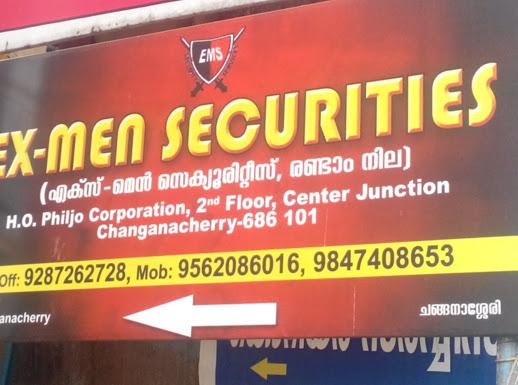 Ex-Men Securities, Security Guard,  service in Changanasserry, Kottayam
