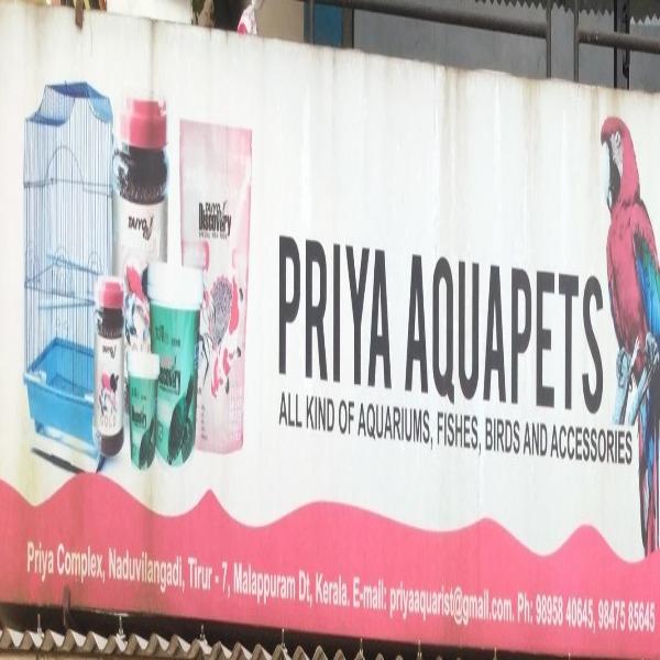 PRIYA AQUAPETS, PETS & AQUARIUM,  service in Tirur, Malappuram