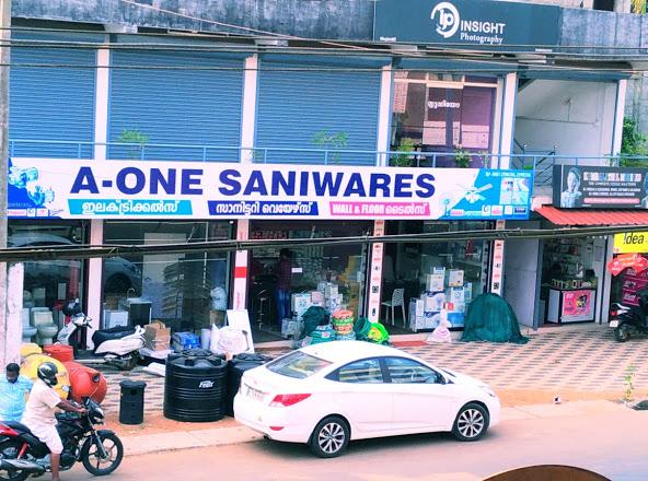 A-ONE Electricals & Sanitary Wares, ELECTRICAL / PLUMBING / PUMP SETS,  service in Pariyaram, Kottayam