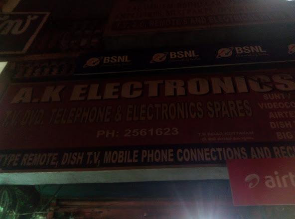 A. K. Electronics, ELECTRONICS,  service in Kottayam, Kottayam
