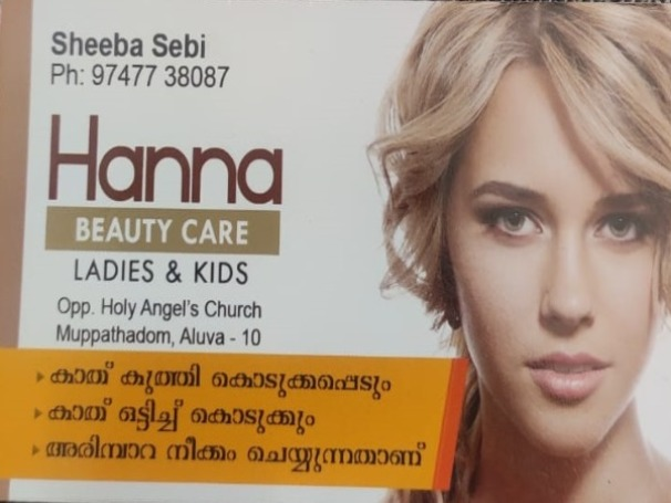 HANNA BEAUTY CARE  ladies and kids