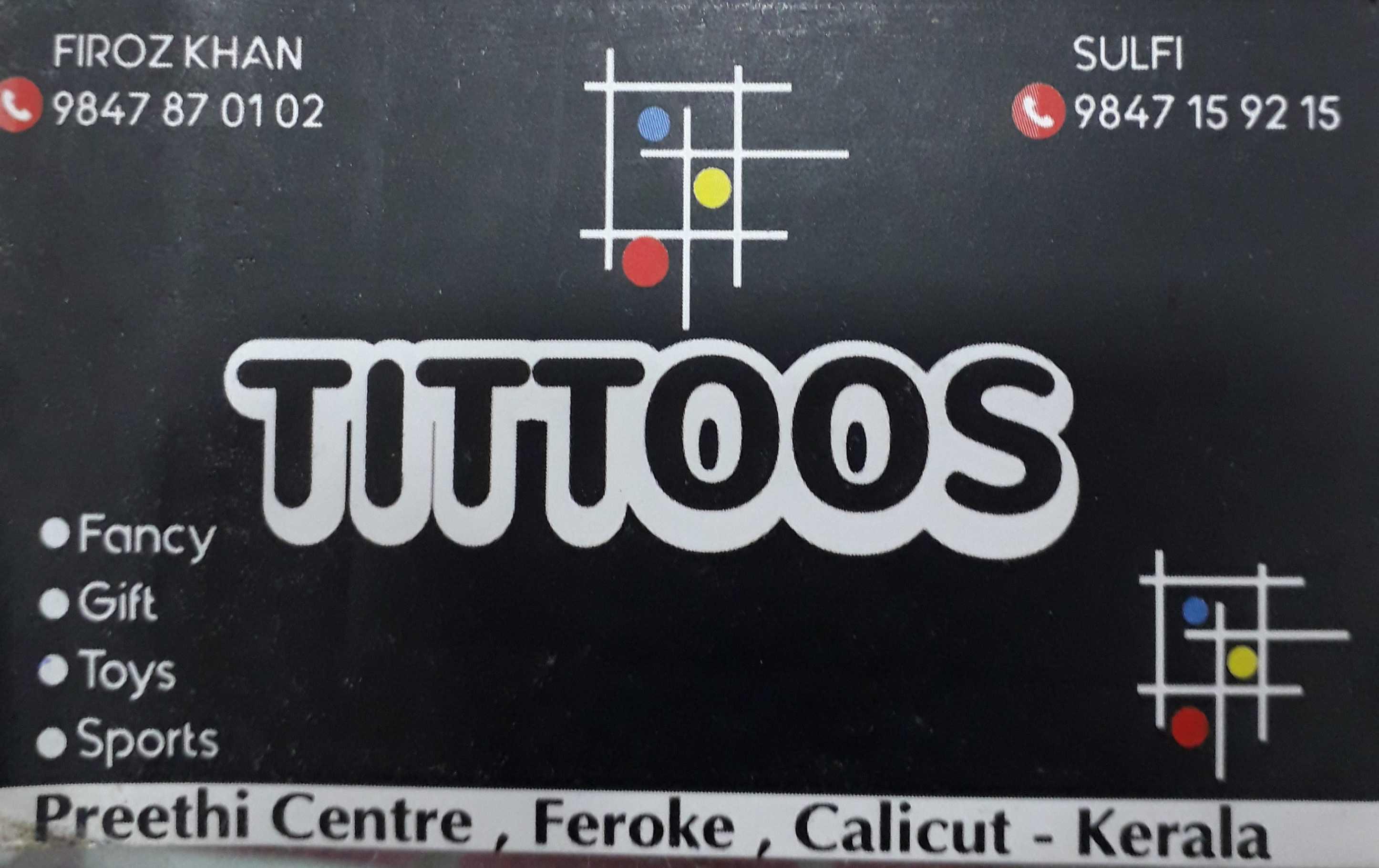TITTOOS gift & toys, GIFT & TOYS,  service in Farook, Kozhikode