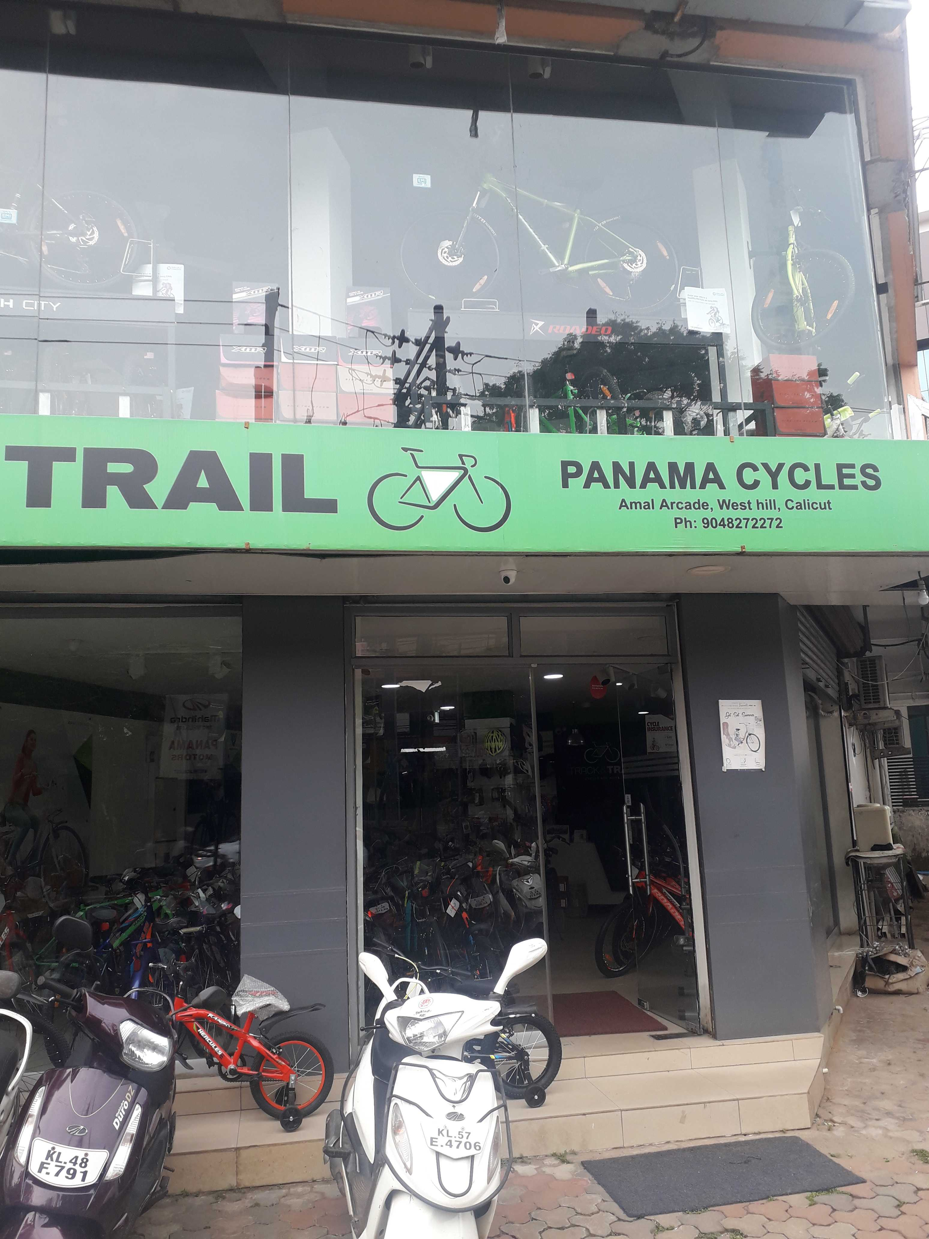 PANAMA CYCLES, CYCLE SHOP,  service in Westhill, Kozhikode