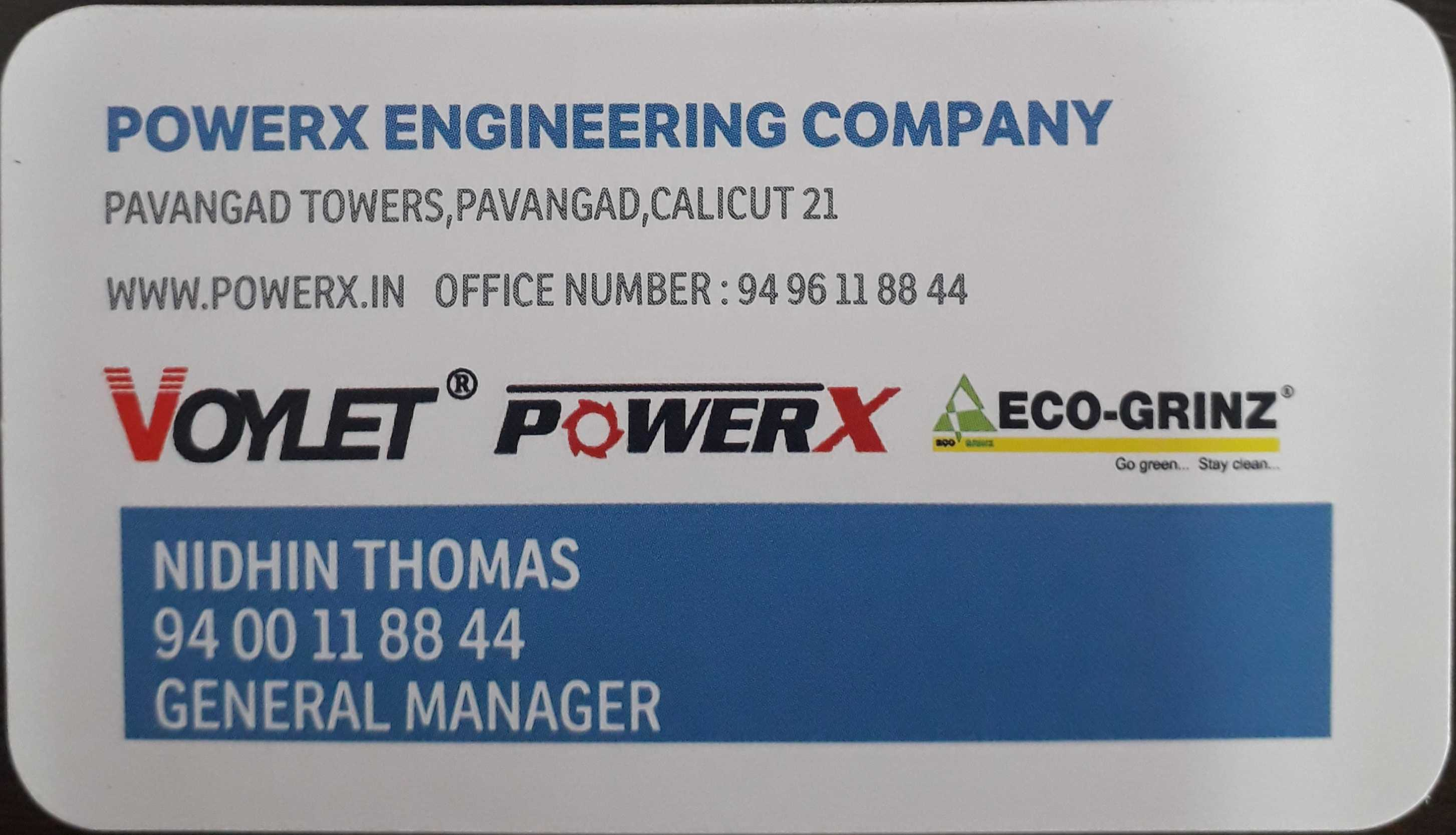 POWER X ENGINEERING COMPANY, TOOLS,  service in Pavangad, Kozhikode