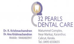 32 PEARLS DENTAL CARE, DENTAL CLINIC,  service in Kunnamangalam, Kozhikode