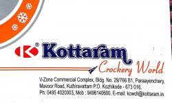 KOTTARAM Crockery World, CROCKERY SHOP,  service in Kozhikode Town, Kozhikode