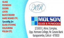 MOLSON Glass , GLASS & PLYWOOD,  service in Kozhikode Town, Kozhikode