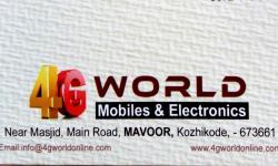 4G WORLD, MOBILE SHOP,  service in Kozhikode Town, Kozhikode