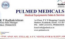PULMED MEDICALS, MEDICAL EQUIPMENTS,  service in Mankavu, Kozhikode