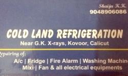 COLD LAND REFRIGERATION, ELECTRONICS,  service in Kovoor, Kozhikode