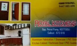 ROYAL KITCHENS, KICHEN CABINET SHOP,  service in Kozhikode Town, Kozhikode