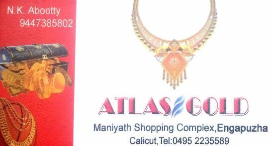 ATLAS GOLD, JEWELLERY,  service in Engapuzha, Kozhikode