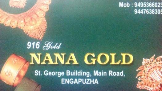 NANA GOLD, JEWELLERY,  service in Engapuzha, Kozhikode