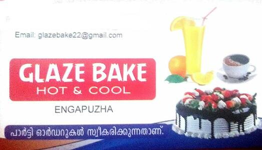 GLAZE BAKE, BAKERIES,  service in Engapuzha, Kozhikode