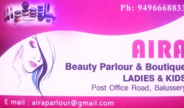 AIRA BEAUTY PARLOUR, BEAUTY PARLOUR,  service in Balussery, Kozhikode