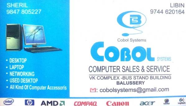 COBOL, LAPTOP & COMPUTER SERVICES,  service in Balussery, Kozhikode