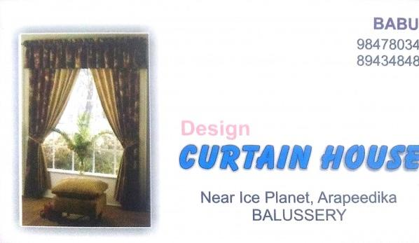 CURTAIN HOUSE, CURTAINS,  service in Balussery, Kozhikode