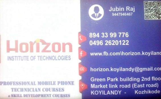 HORIZON, SMART PHONE TECHNOLOGY,  service in Koylandy, Kozhikode