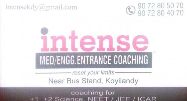 INTENSE, TUTION CENTER,  service in Koylandy, Kozhikode