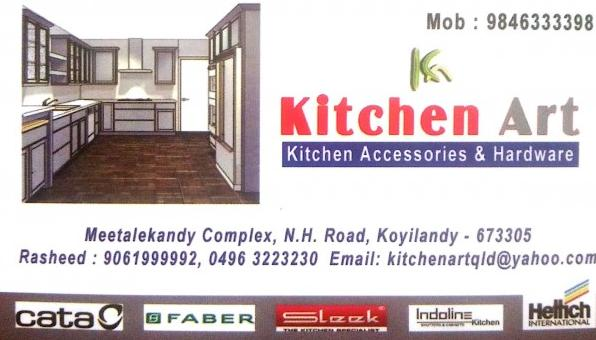 KITCHEN ART, KICHEN CABINET SHOP,  service in Koylandy, Kozhikode