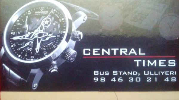CENTRAL TIMES, CLOCK & WATCH,  service in Ulliyeri, Kozhikode