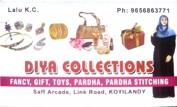 DIYA COLLECTIONS, FANCY & COSTUMES,  service in Koylandy, Kozhikode