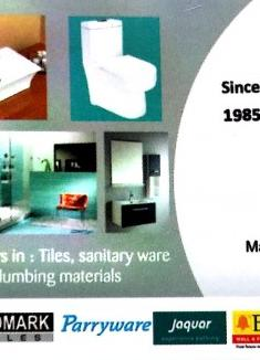 LOTUS Tiles and Sanitation, TILES AND MARBLES,  service in Chemmad, Malappuram