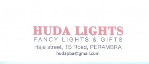 HUDA LIGHTS, LIGHT,  service in perambra, Kozhikode