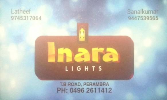 INARA, LIGHT,  service in perambra, Kozhikode