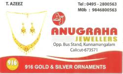 ANUGRAHA  JEWELLERS, JEWELLERY,  service in Kozhikode Town, Kozhikode