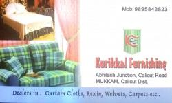 KURIKKAL FURNISHING, CURTAINS,  service in Mukkam, Kozhikode