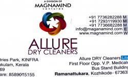 ALLURE Dry cleaners, DRY CLEANING,  service in Ramanattukara, Kozhikode